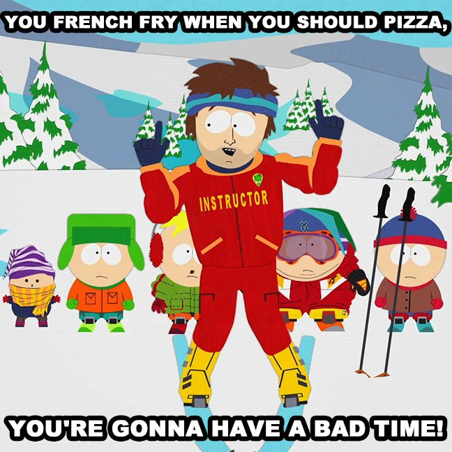 South Park Going to Have a Bad Time Intermittent Fasting