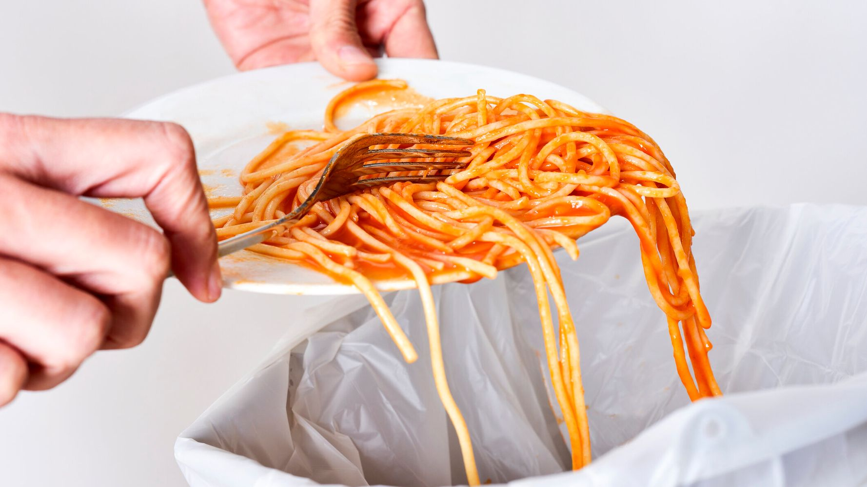 throwing out Tempting food